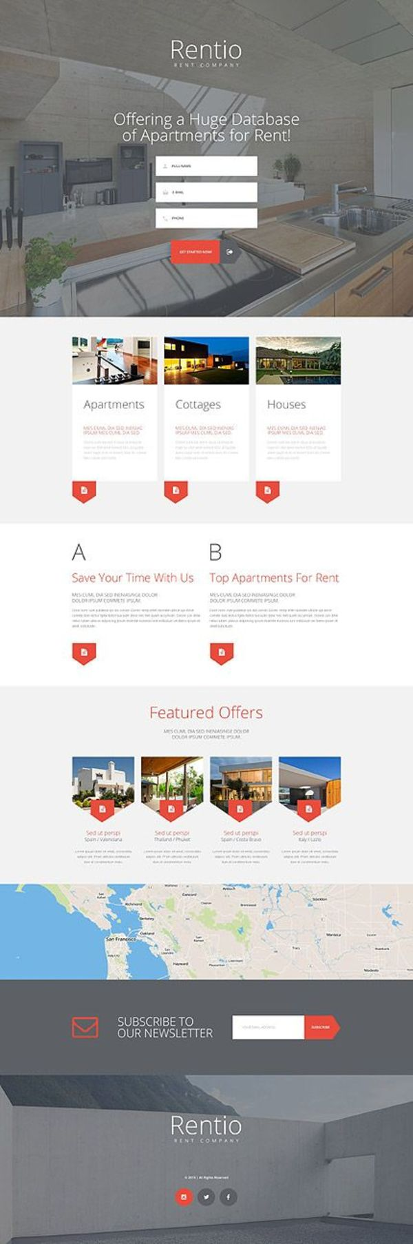 Real Estate Agency  Layout